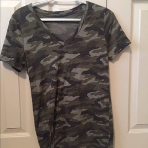 Camouflaged T-shirt